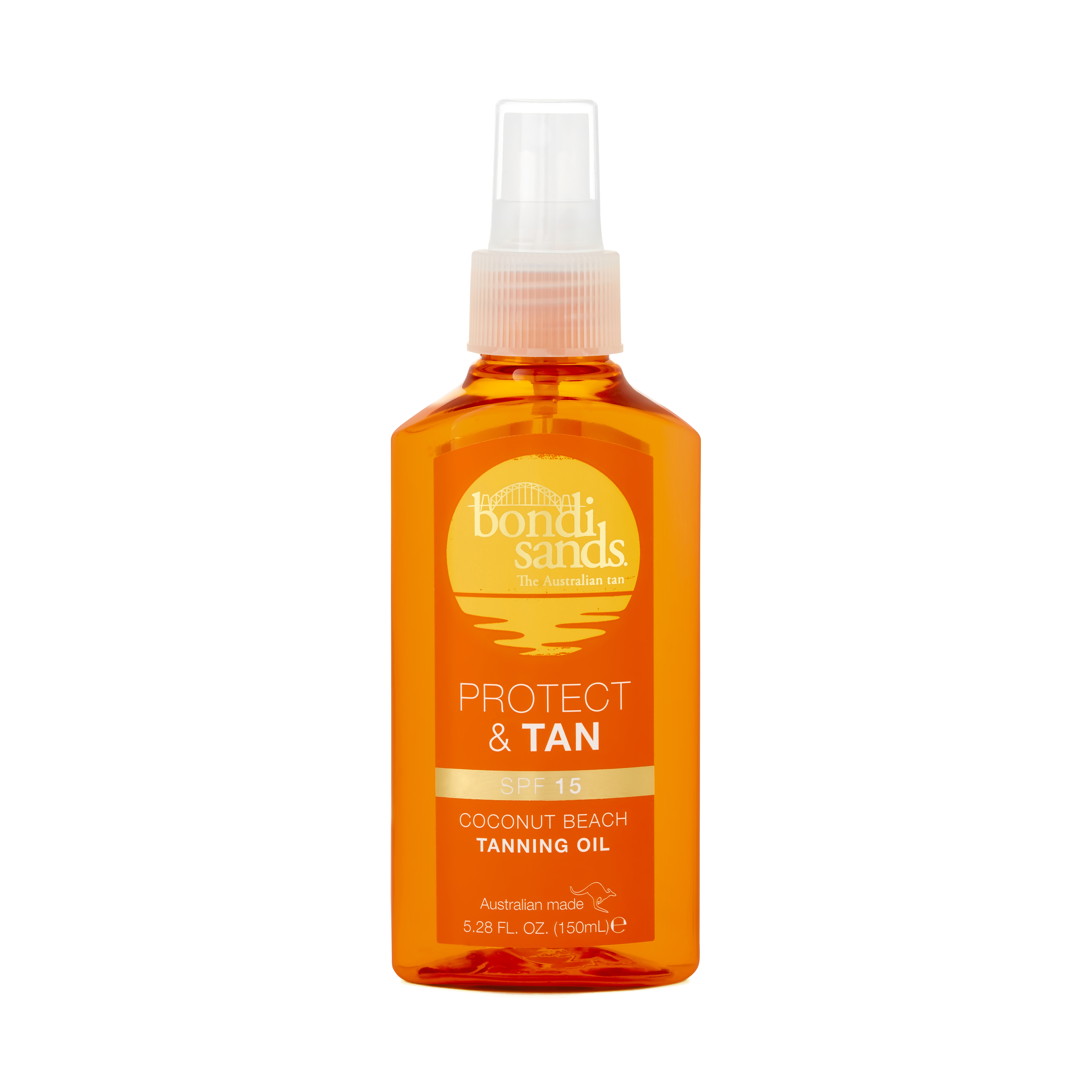 Bondi Sands Protect and Tan Coconut Beach Tanning Oil RRP$24.99