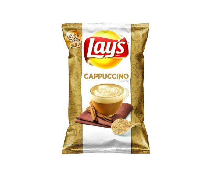 Cappuccino Lays crisps